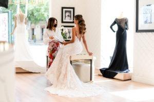 pronovias Almería, Alessandra Rinaudo junto a Elena Alba