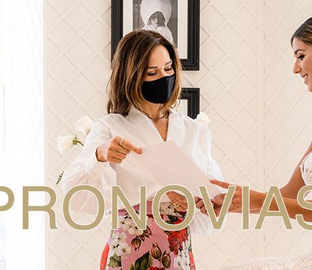 Probando vestido en Pronovias – Almería